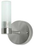 Светильник галогенный для ванной комнаты. G9, 25W, 220V,  IP23, сталь, стекло.