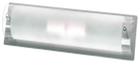 Светильник галогенный для ванной комнаты. 2хЕ14,40W,220V,  IP23, сталь, стекло.